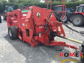 Forage wagon - straw shredder Silofarmer DP560HGLE - 3