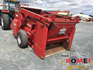Forage wagon - straw shredder Silofarmer DP560HGLE - 4