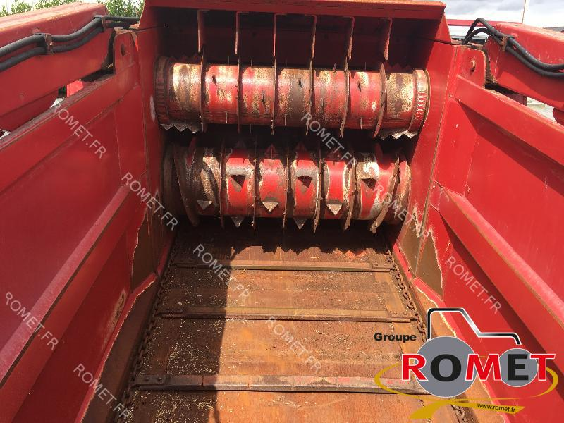 Forage wagon - straw shredder Silofarmer DP560HGLE - 1