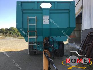 Cereal tipping trailer Rolland TURBOVRAC 26-38 - 1