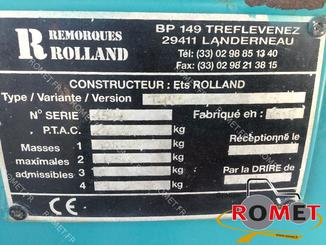 Cereal tipping trailer Rolland TURBOVRAC 26-38 - 7