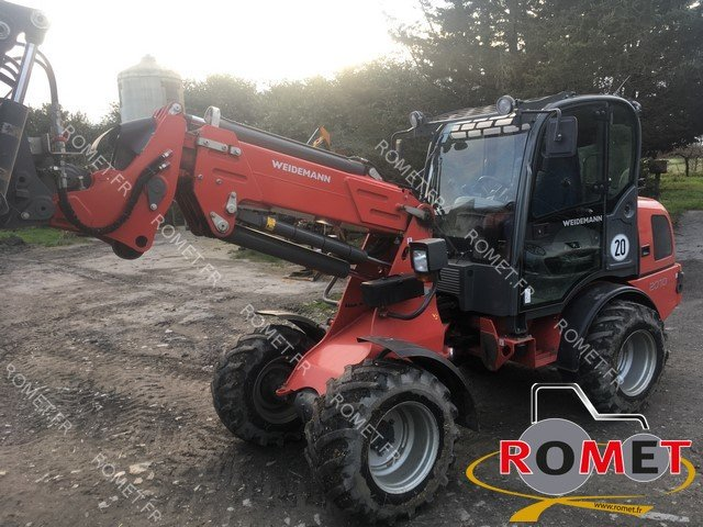 Articulated loader Weidemann 2070CXT50 - 1