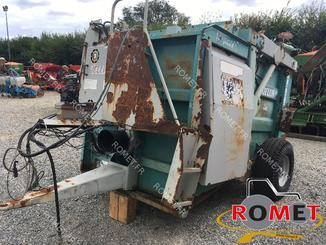Forage wagon - straw shredder Jeulin SIROCCO F2 - 2