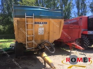 Cereal tipping trailer Rolland TURBO130 - 1