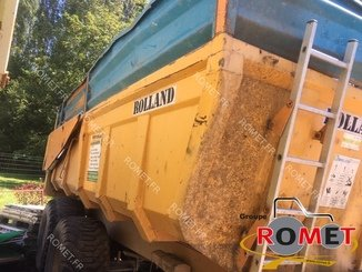 Cereal tipping trailer Rolland TURBO130 - 2