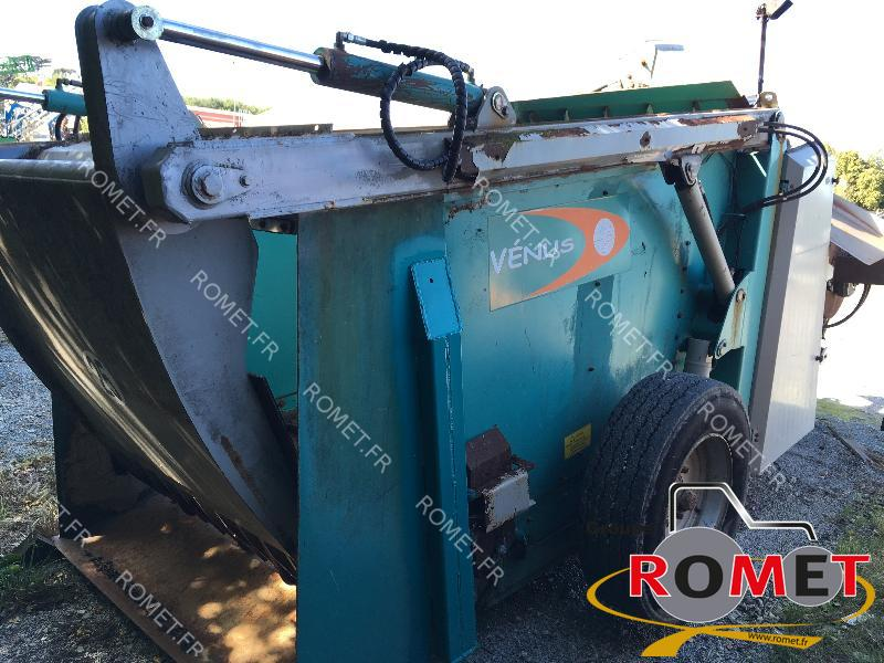 Forage wagon - straw shredder Jeulin VENUS - 1