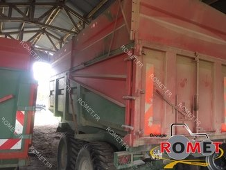 Cereal tipping trailer Coutant REMB15 - 2