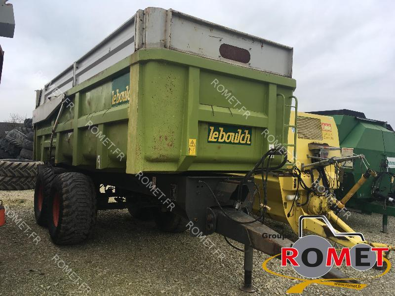 Cereal tipping trailer Leboulch GOLD K150 - 1