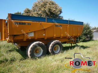 Cereal tipping trailer Rolland TURBO 15 - 1