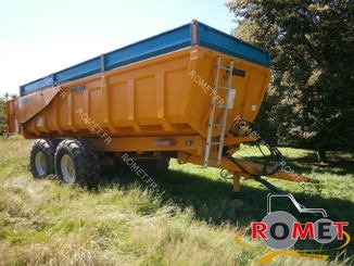 Cereal tipping trailer Rolland TURBO 15 - 3