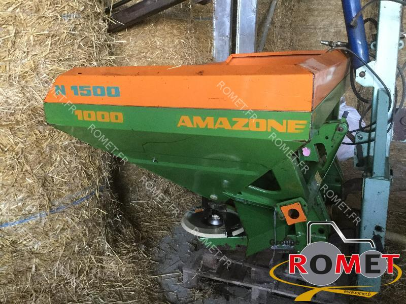 Fertiliser spreader Amazone ZAM1500 - 1