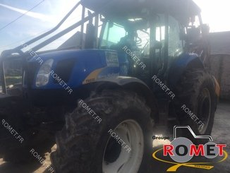 Farm tractor New Holland T6050 - 4