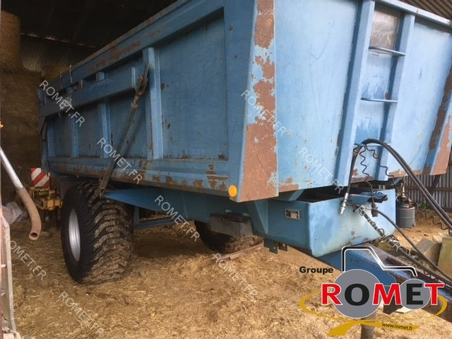 Cereal tipping trailer Duchesne B 8S - 1