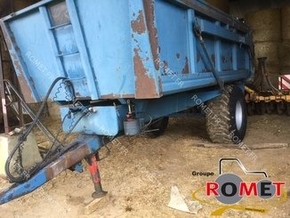 Cereal tipping trailer Duchesne B 8S - 2