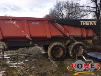 Cereal tipping trailer Thievin TL 140-59 - 1