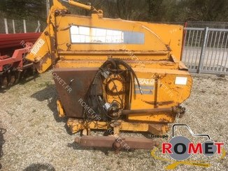 Forage wagon - straw shredder Lucas PAILLOTTE - 1