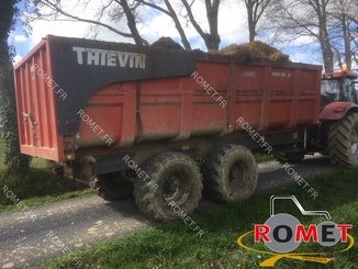 Cereal tipping trailer Thievin COBRA 160-67 - 1