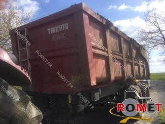 Cereal tipping trailer Thievin COBRA 160-67 - 4