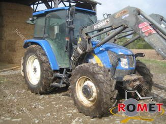 Farm tractor New Holland TLA100 - 2